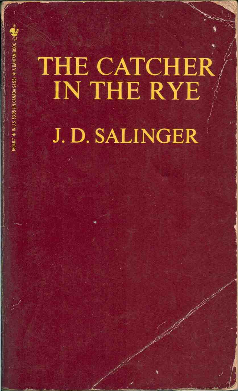 the catcher in the rye by j d salinger days of the book  ron javier